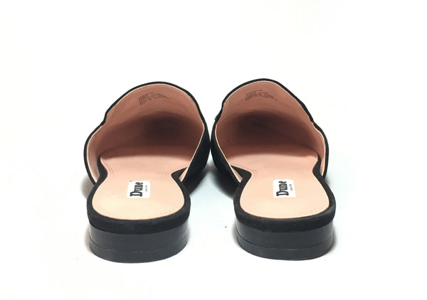 DUNE Embroidered Backless Mules | Like New |