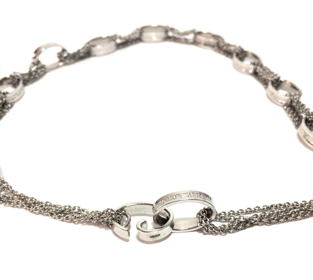 Emporio Armani Silver Chain Necklace | Gently Used |