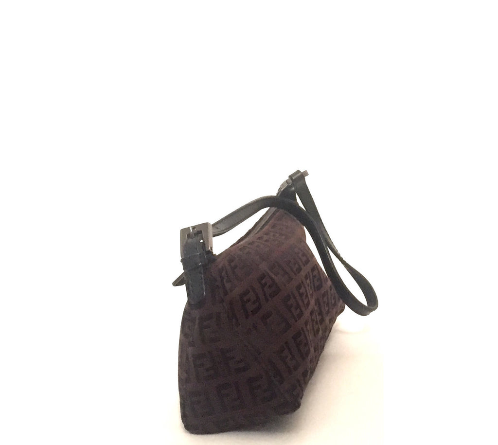 Fendi Zucchinno Pochette Mini Bag | Gently Used | - Secret Stash