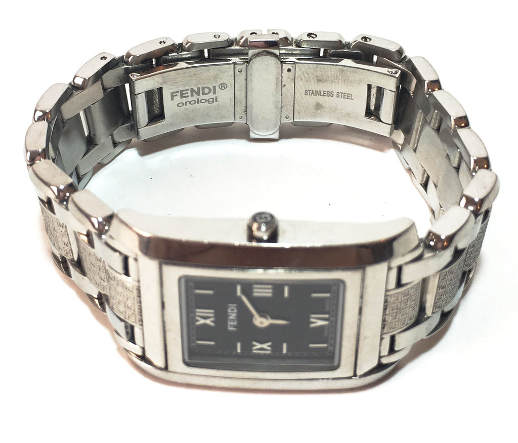 Fendi 7600 Series Stainless Steel Sapphire Crystals Wristwatch | Pre Loved |