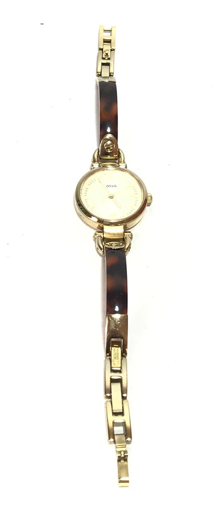Fossil Gold & Brown Gradient Watch | Pre loved |