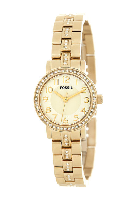 Fossil BQ1428 Gold Stainless Steel Watch | Brand New |