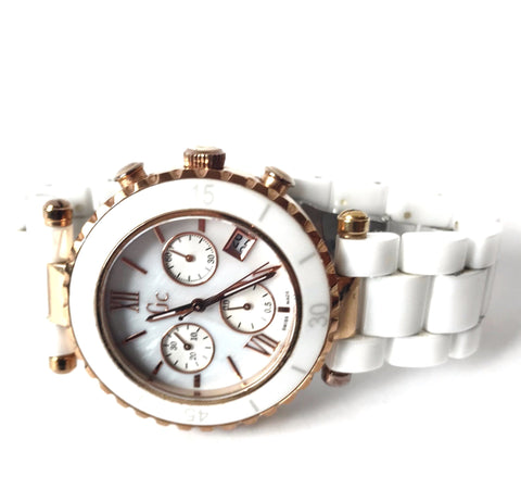 Guess Collection Women's White 43001M1 Watch | Gently Used |