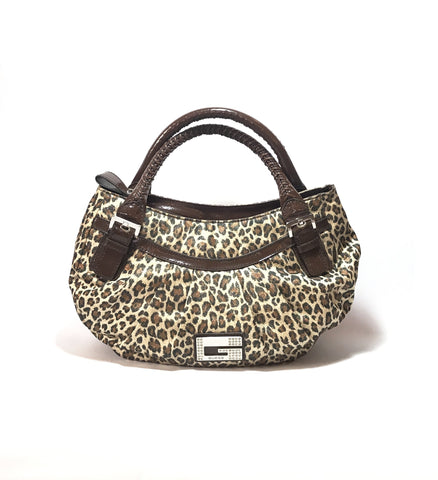 Guess Cheetah Print Shoulder Bag | Like New |