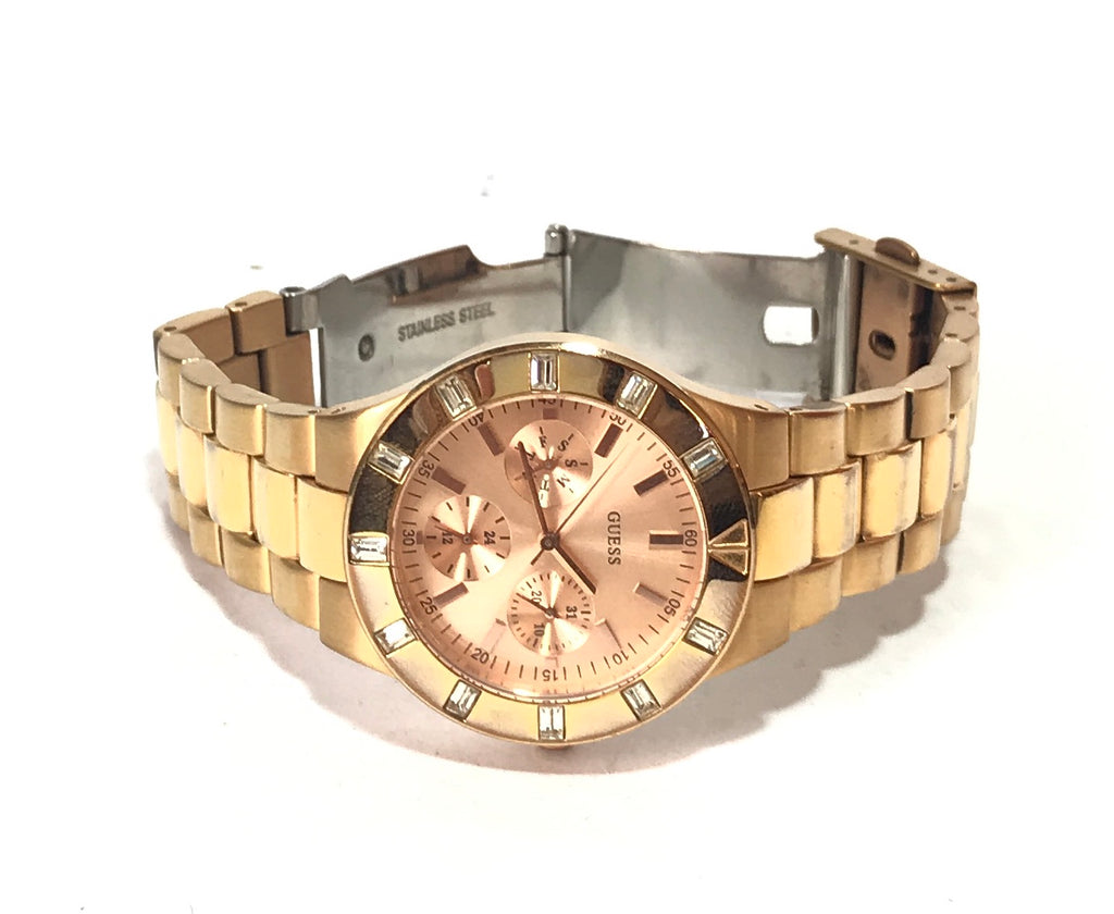GUESS Gold W16017L1 Analog Watch | Pre loved |