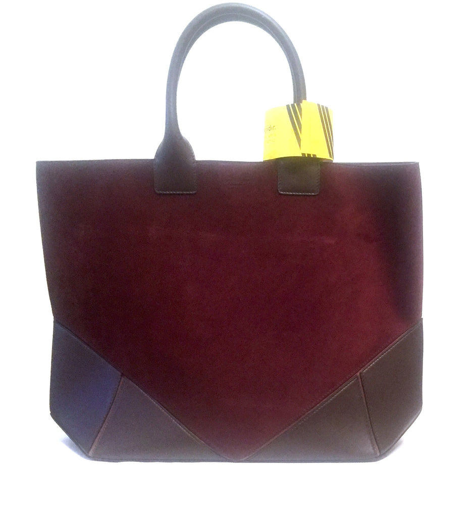 Givenchy Suede & Leather Tote Bag | Brand New | - Secret Stash