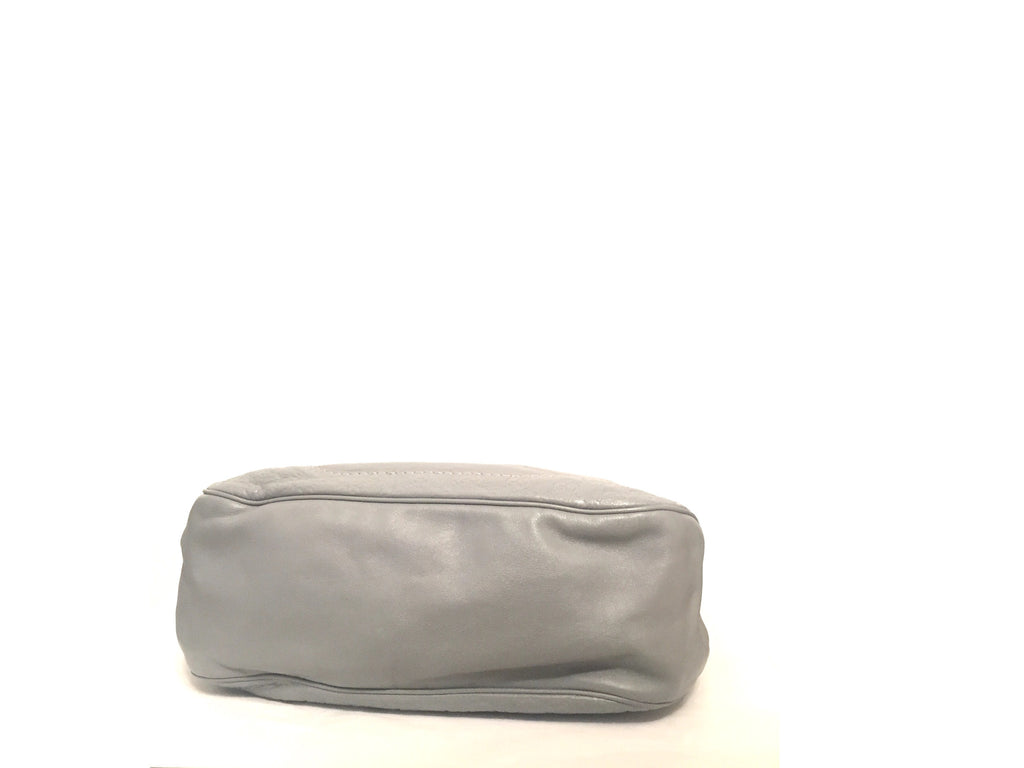 Gucci Grey Leather Shoulder Bag | Gently Used | - Secret Stash