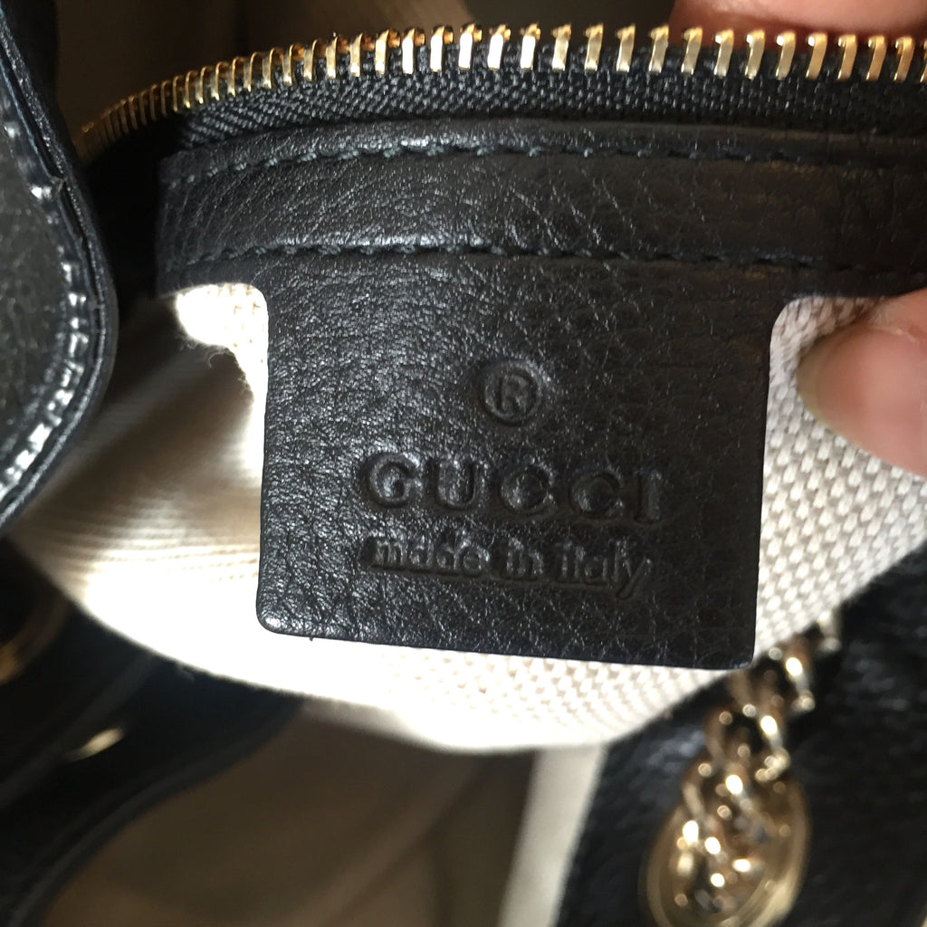 Gucci Soho Leather Shoulder Bag | Like New | - Secret Stash