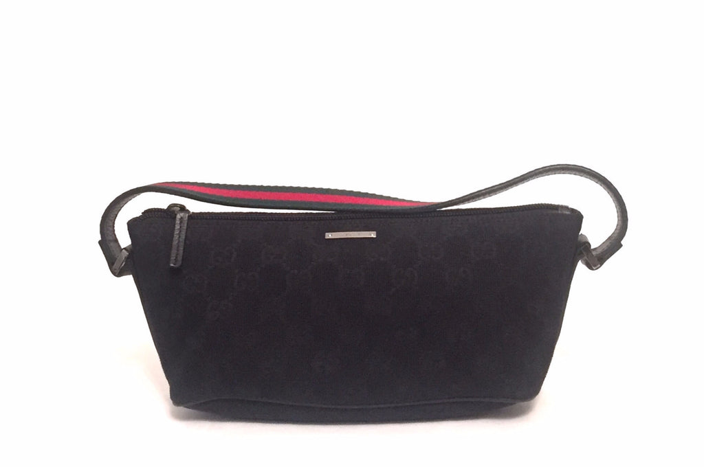 Gucci Black Pochette Baguette | Gently Used | - Secret Stash
