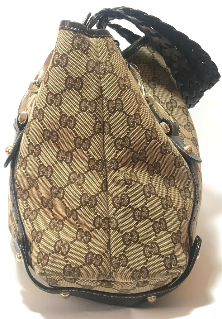 Gucci Monogram 'Pelham' Shoulder Bag | Gently Used |