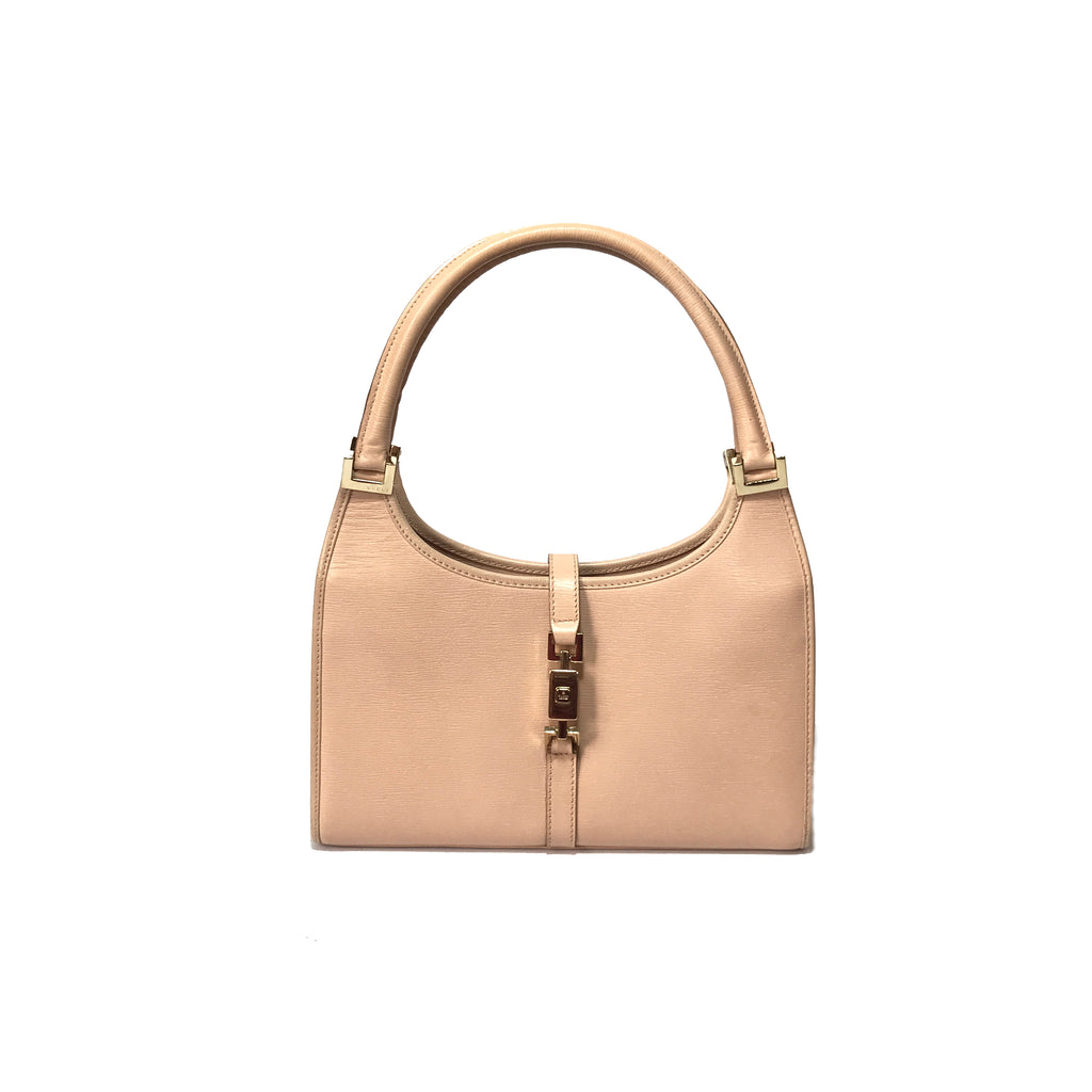 Gucci Nude Pink Jackie Shoulder Bag | Gently Used |