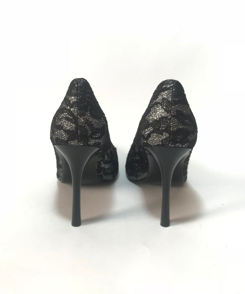 Guess Black Lace Heels | Brand New |