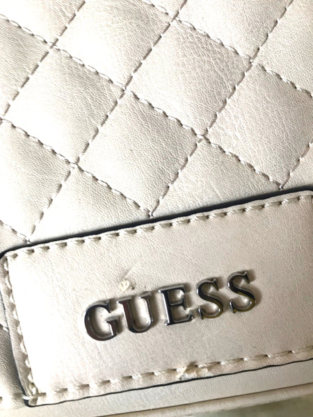 GUESS Quilted Leather Cross Body Bag | Brand New |