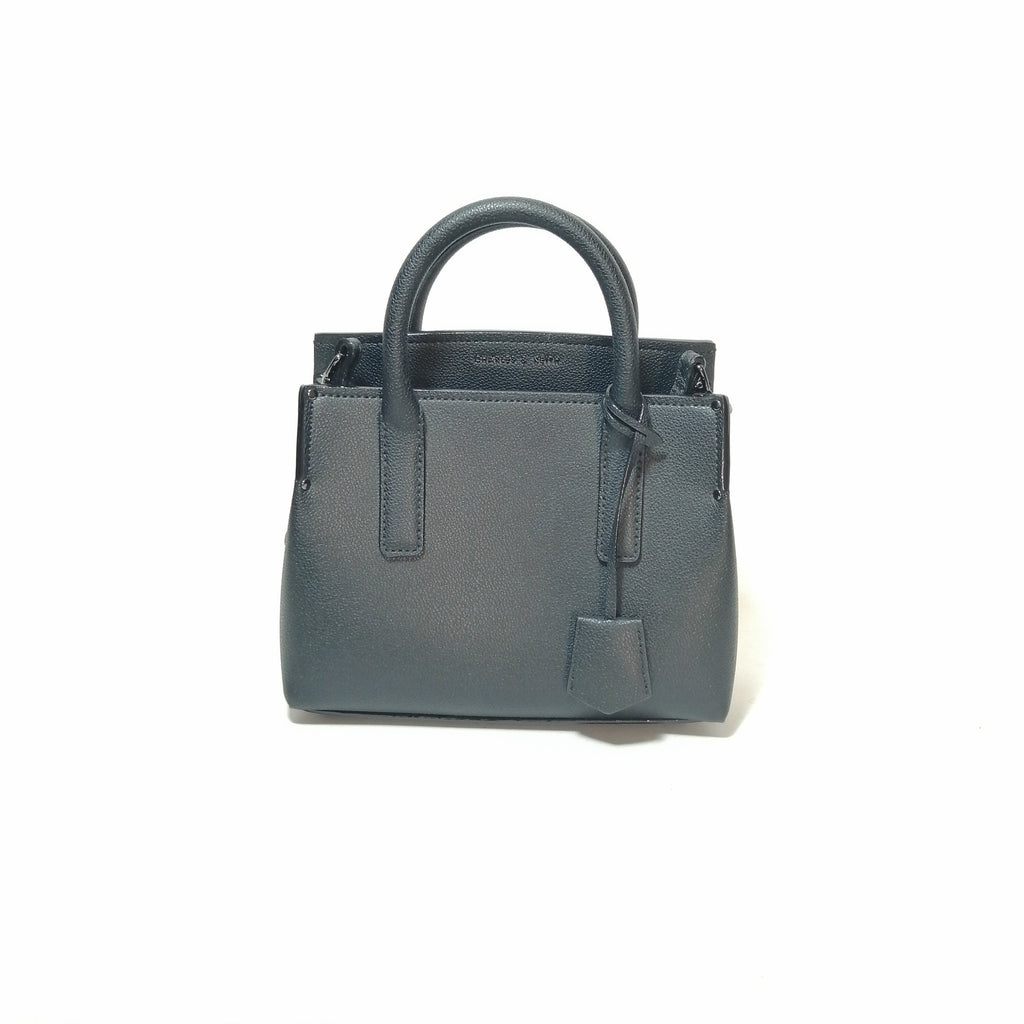 Charles & Keith Black Mini Satchel