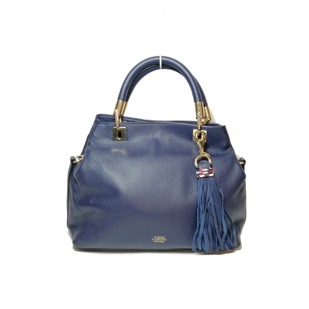 Vince Camuto Blue Leather Tote