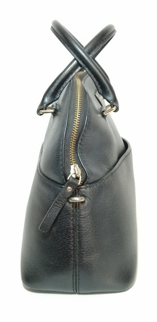Kate Spade Black Leather Dome Satchel