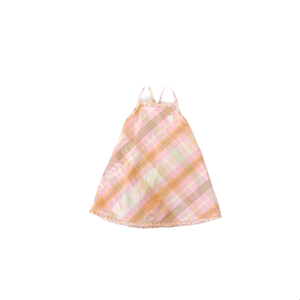 Oshkosh Pink Checked Dress (size 3 years)