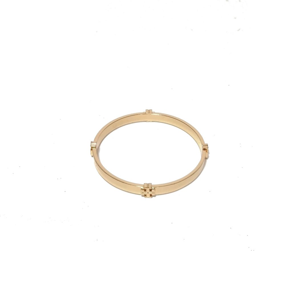 Tory Burch Gold Logo Bangle