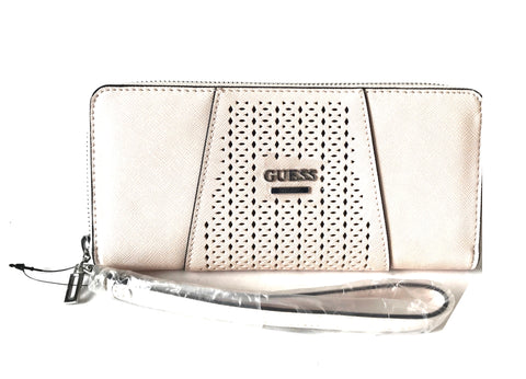 GUESS Zip Around Light Pink Wallet | Brand New |