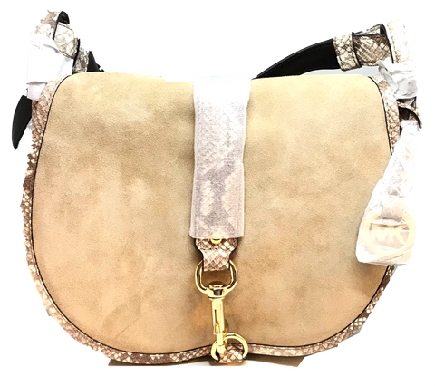 Michael Kors Jamie Large Saddle Bag | Brand New |