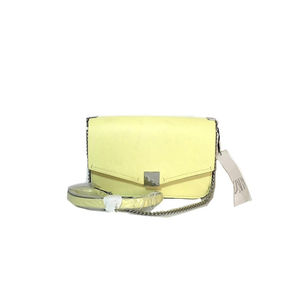 ZARA Yellow Cross Body Bag | Brand New |