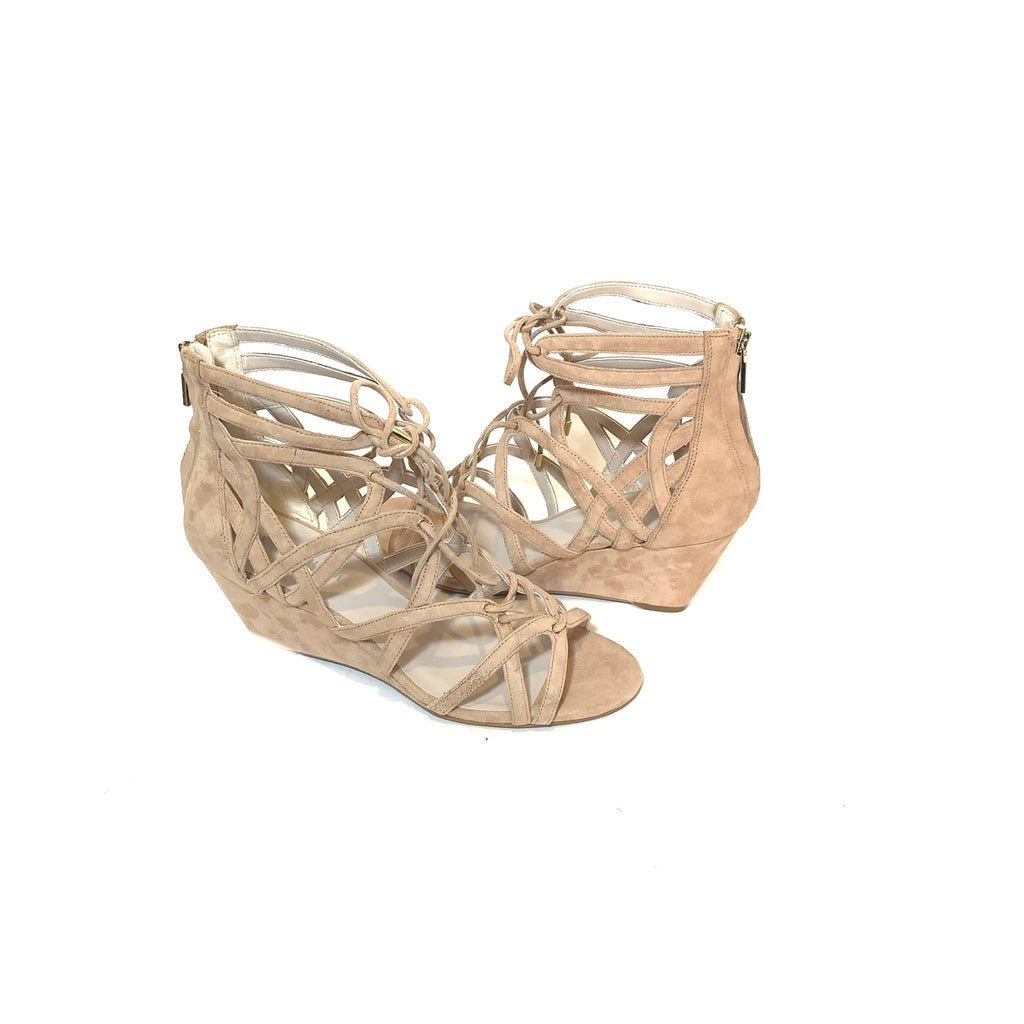 Kenneth Cole Beige 'Dylan' Wedges | Brand New |