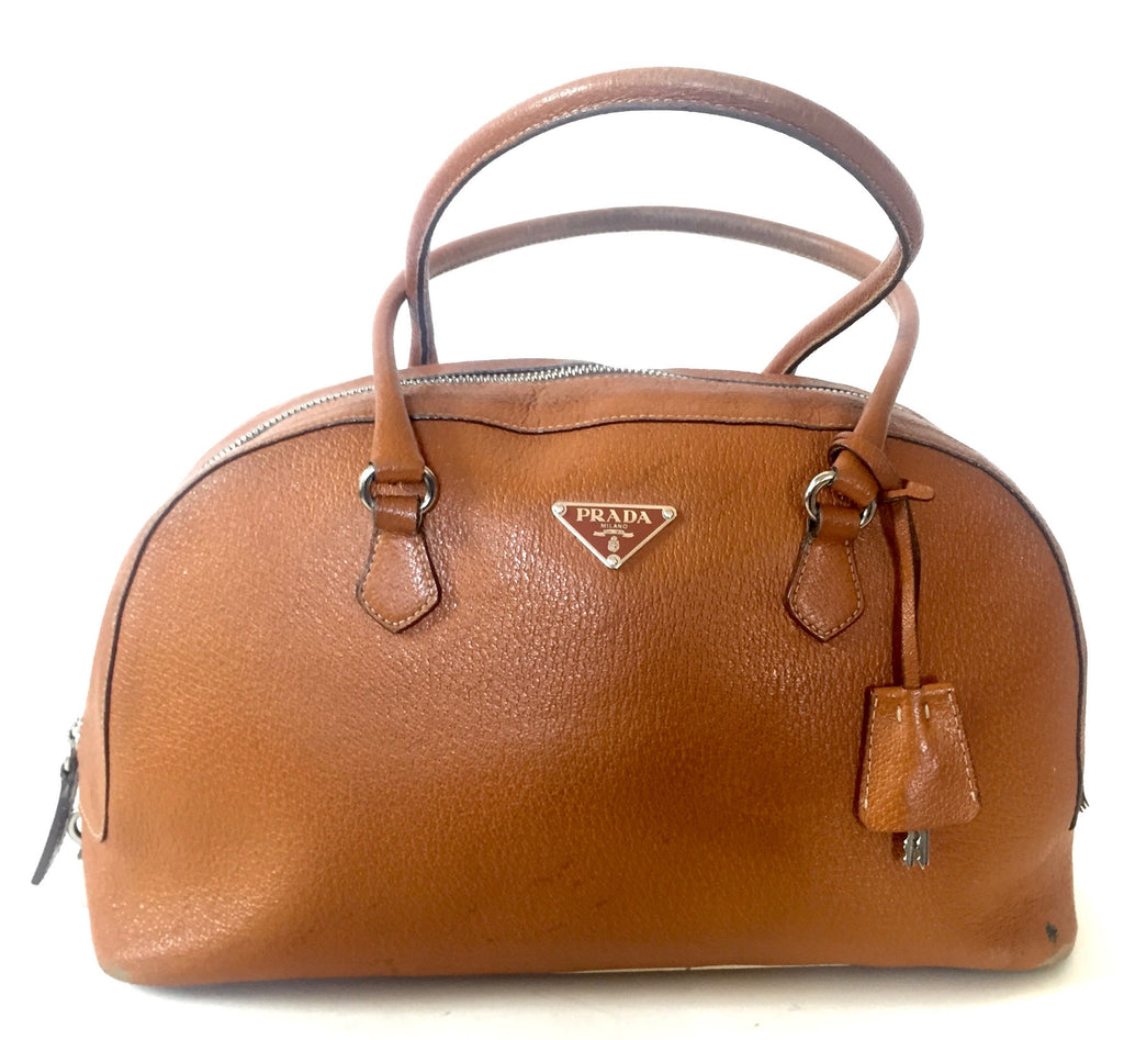Prada Vintage Tan Tote Bag | Pre Loved | - Secret Stash