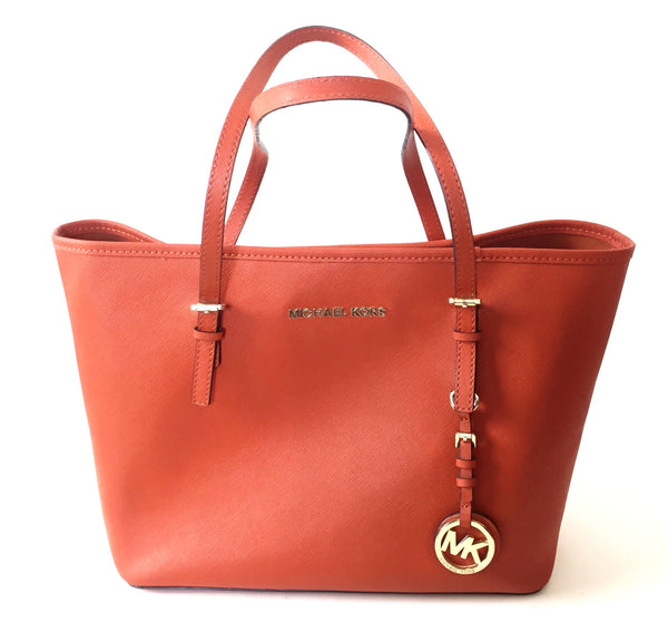 MICHAEL Michael Kors Jet Set Small Travel Tote Bag | Gently Used | - Secret Stash