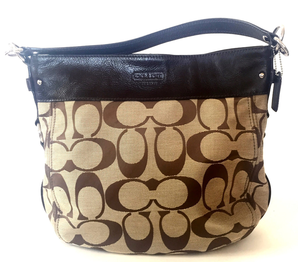 Coach Canvas with Leather Trim Tote Bag | Gently Used | - Secret Stash