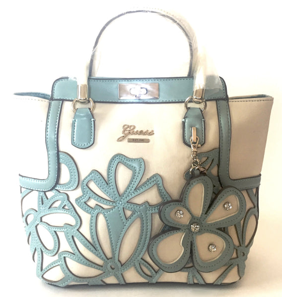 Guess Laser Cut Floral Medium Tote Bag | Brand New | - Secret Stash