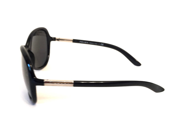 Prada SPR 25L Black Sunglasses | Pre Loved | - Secret Stash