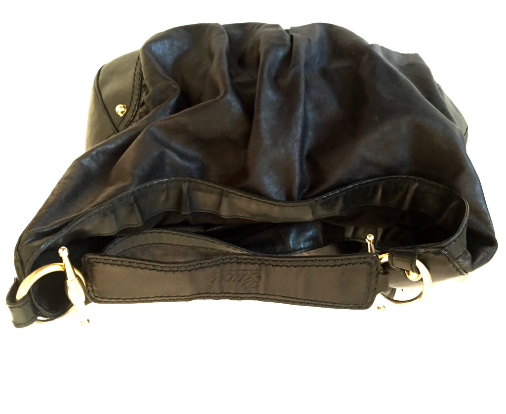Gucci Black Leather Hobo Bag | Gently Used | - Secret Stash