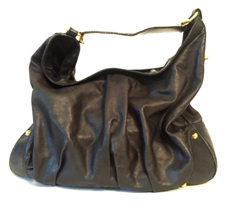 Gucci Black Leather Hobo Bag | Gently Used |