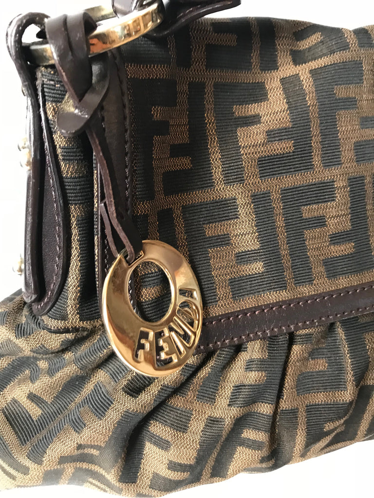 FENDI Zucca Chef Shoulder Bag | Gently Used |