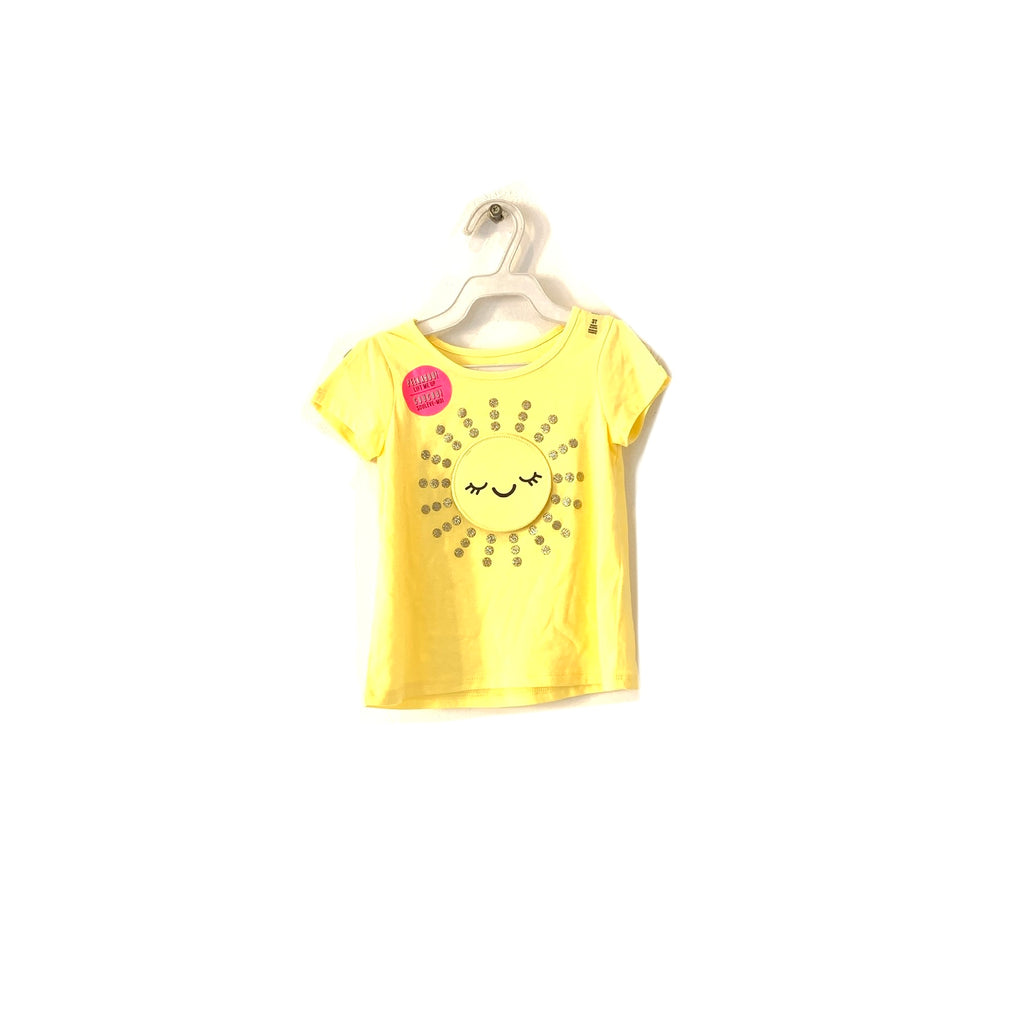The Children's Place Yellow Sunshine T-Shirt | Brand New |