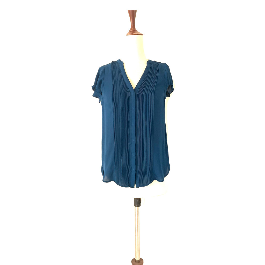 H&M Teal Blue Top | Gently Used |