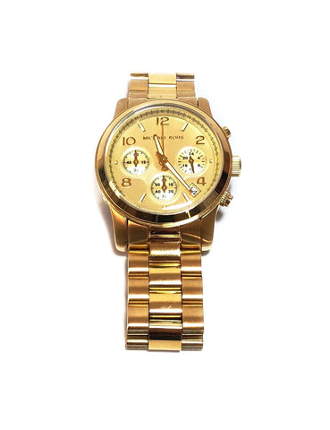 Michael Kors MK5055 Gold Watch | Like New |