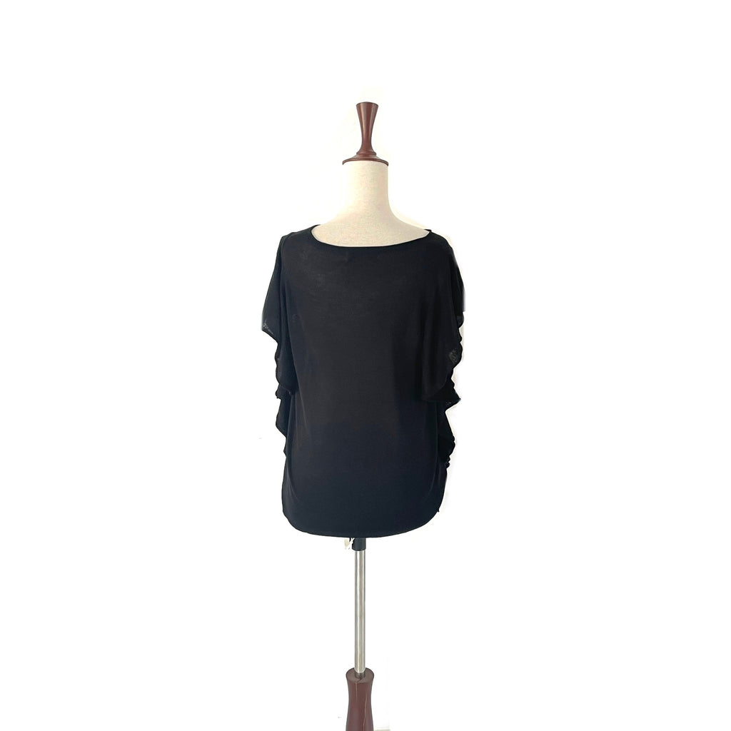 ZARA Black Knit Top | Gently Used |