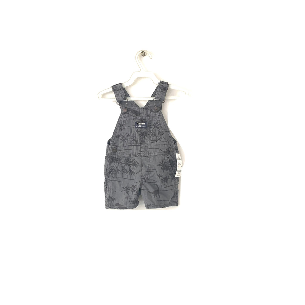 Oshkosh Grey Tree Print Overalls | Brand New |