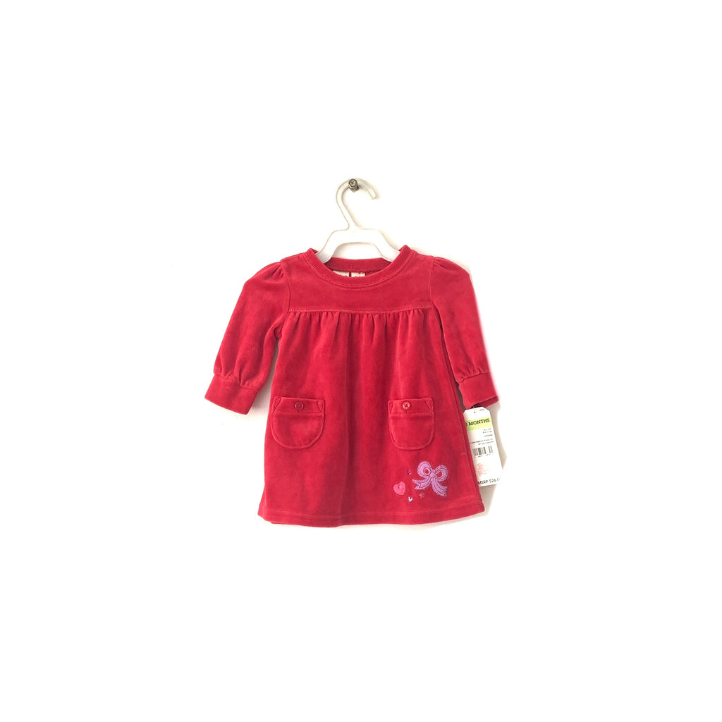 Oshkosh Red Velvet Dress | Brand New |