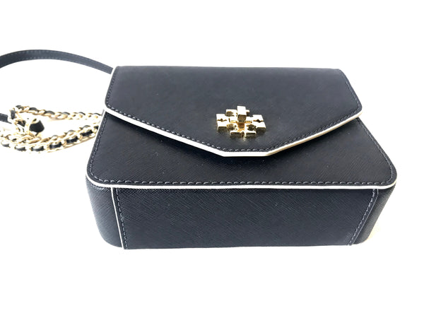 Tory Burch Navy Mini KIRA Cross Body Bag | Gently Used |