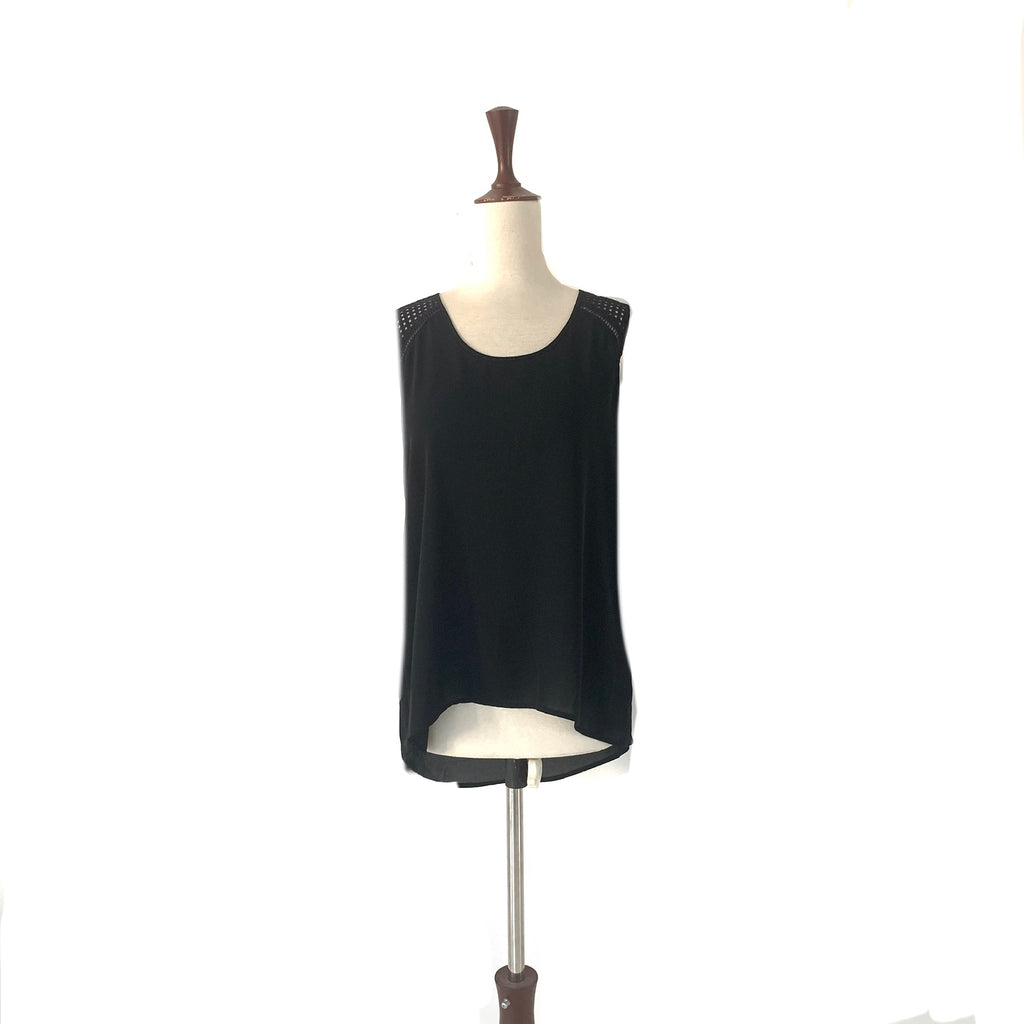 Banana Republic Black Sleeveless Top | Gently Used |