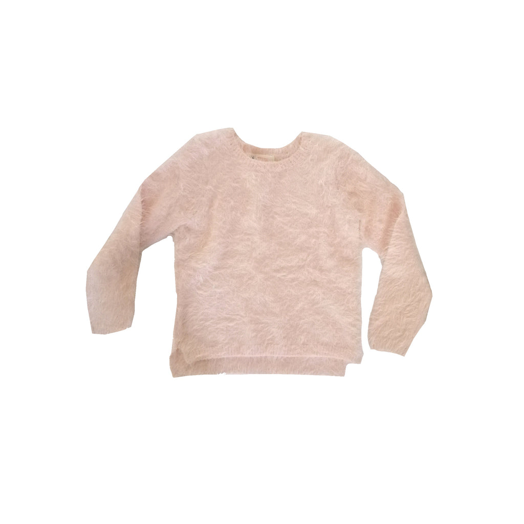 H&M Pink Fur Sweater (4 - 6 years)