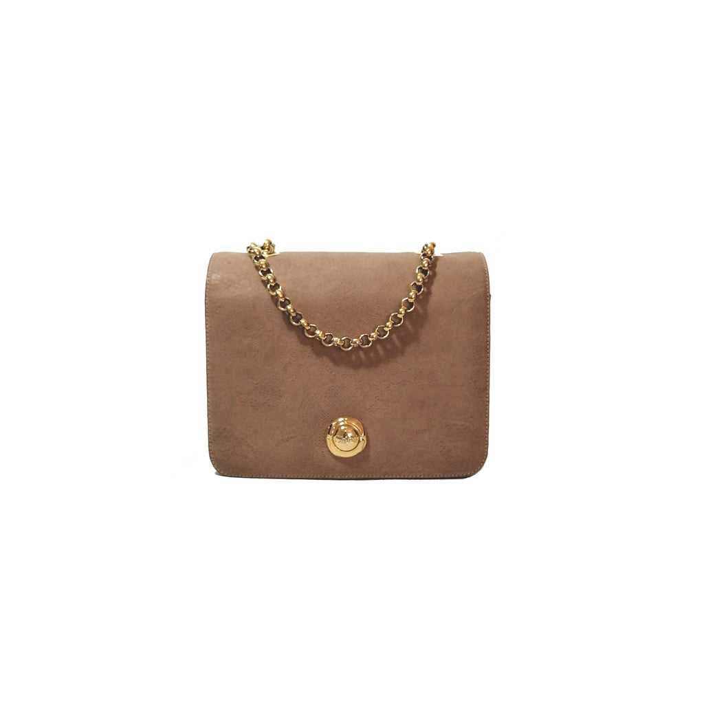 Chloe Tan Suede Shoulder Bag