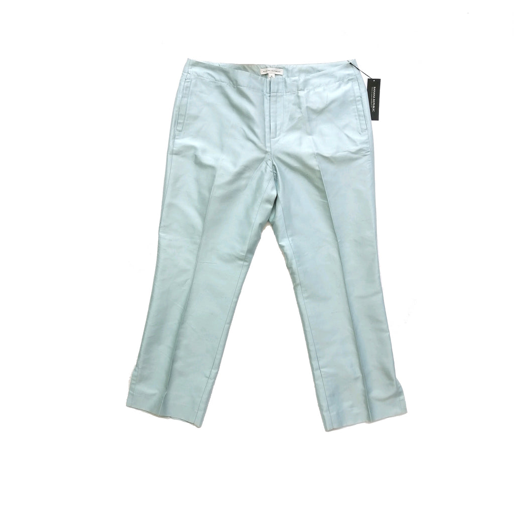 Banana Republic Light Blue Silk Pants | Brand New |