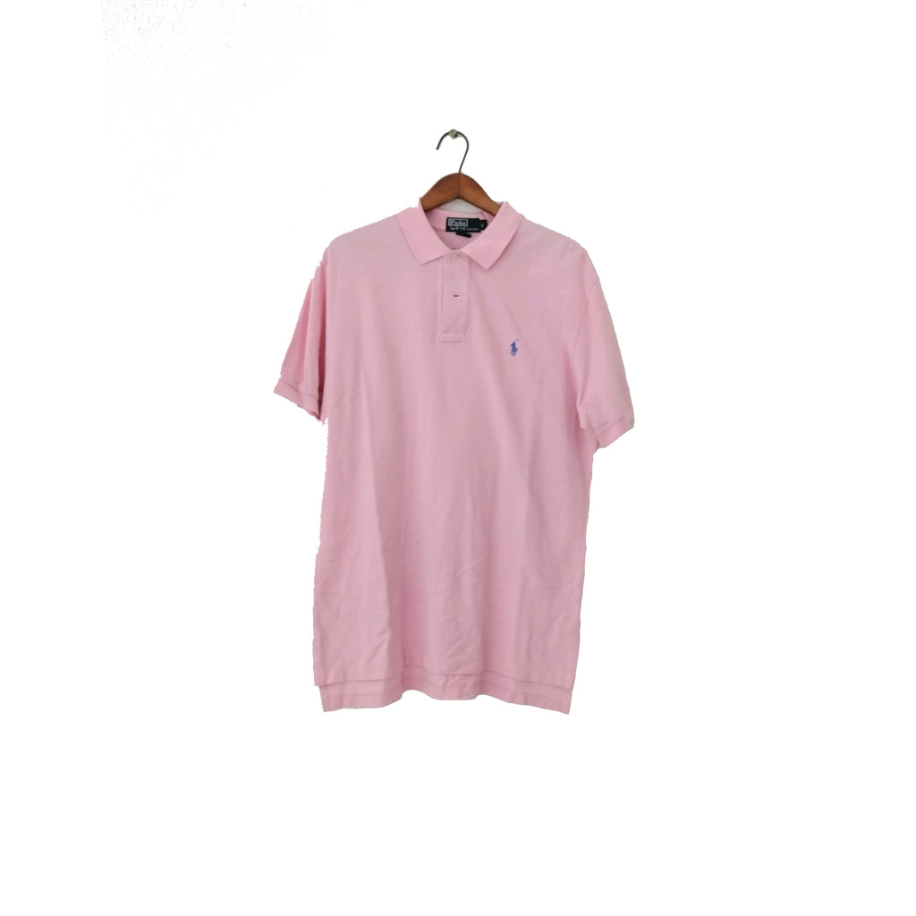 Men's Polo by Ralph Lauren Pink Shirt