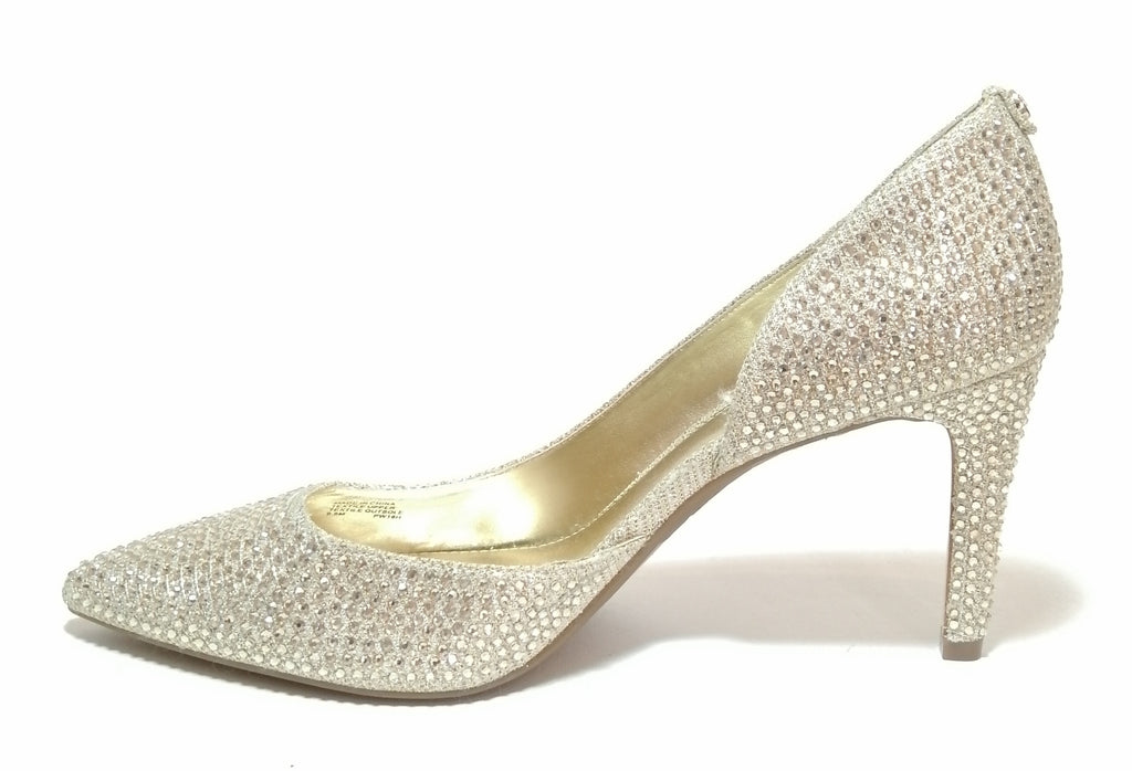 Michael Kors Rhinestone Pointed Pumps