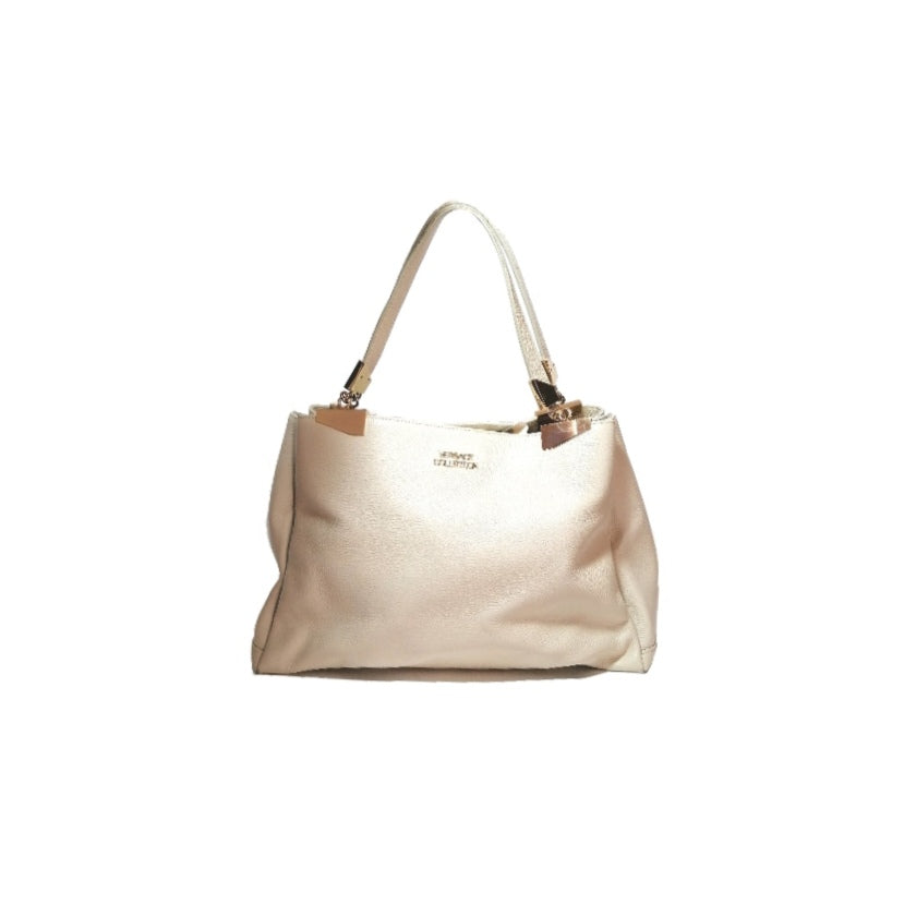 Versus Versace Cream Leather Tote