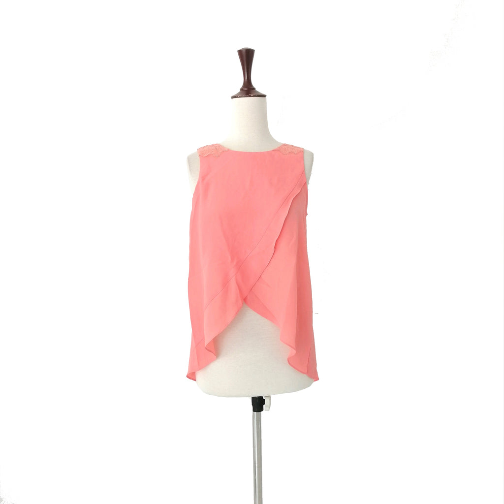 BCBGeneration Coral Top | Gently Used |