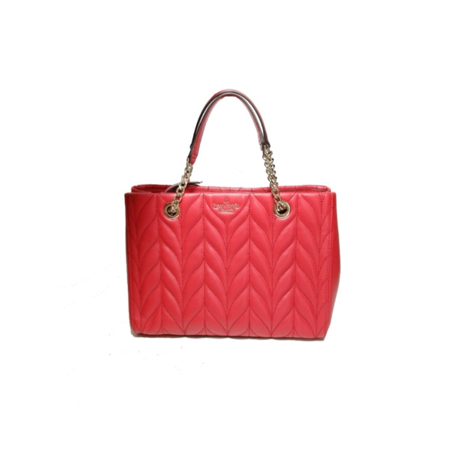 Kate Spade Red Leather Shoulder Bag